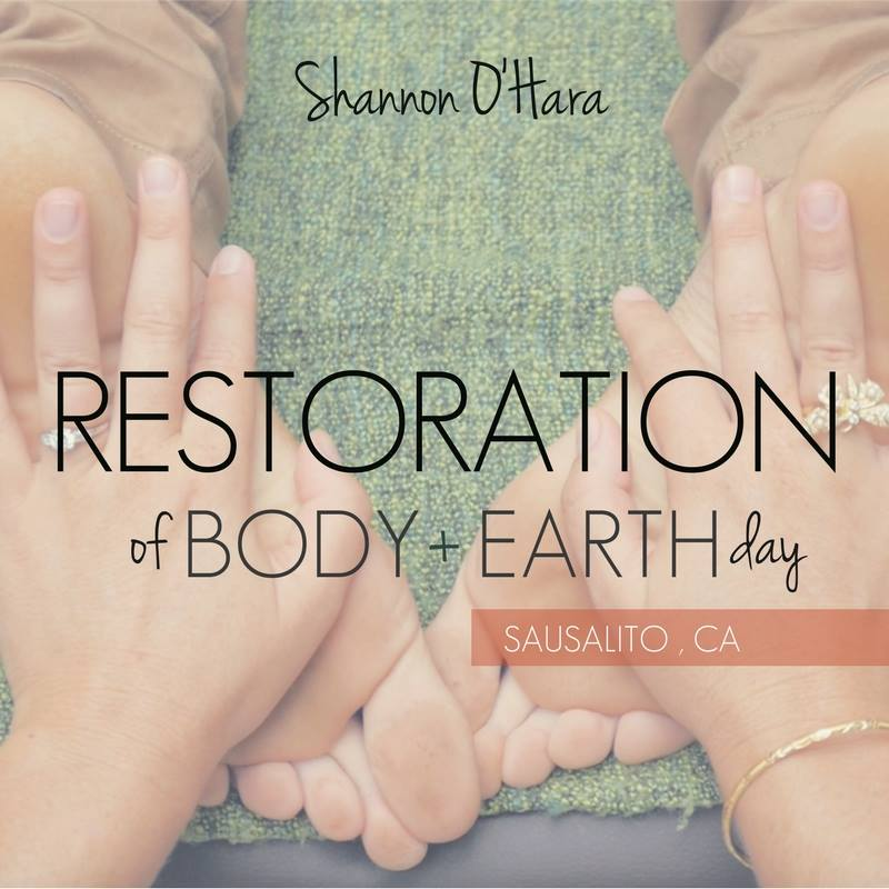 English: Restoration of Body & Earth Day